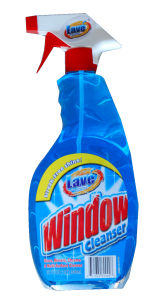 window cleaner for microwave ovens