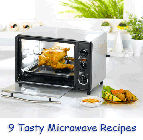9 Tasty Microwave Recipes
