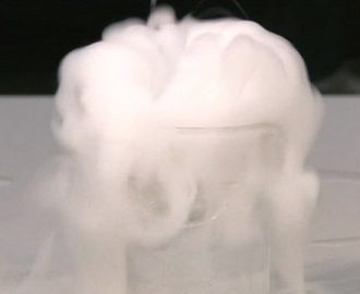 liquid nitrogen in cookery
